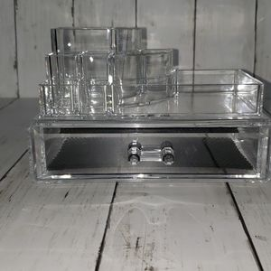Other - Clear Acrylic cosmetic or jewelry organizer